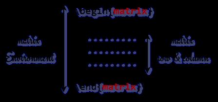latex matrix environment
